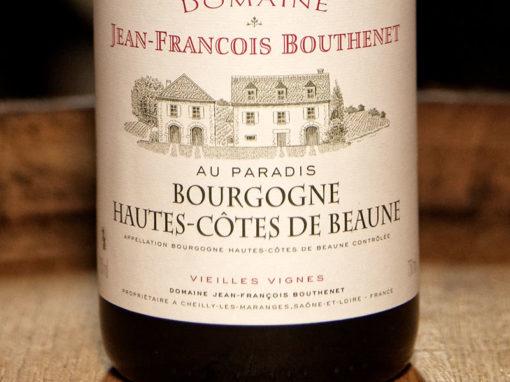 """Bourgogne Hautes côtes de Beaune Rouge """"Au Paradis"""""""